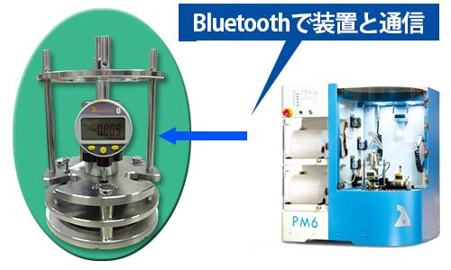 自動装置停止機能付き精密研磨治具PSM