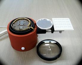 共晶ダイボンダー用ワークホルダー(N2機構・断熱材・2インチトレー台・ミラーユニット・ガラスカバー付属)