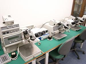 ワイヤープルテスターにより、ボンディング強度の管理を行いながら、実装することが出来ます。